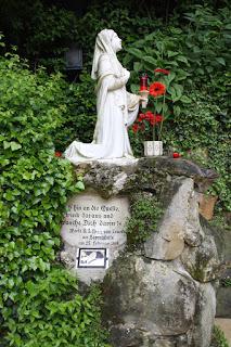 Statue of Bernadette, Courtesy of Wikipedia
