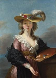 Self-portrait by Madame Vigée LeBrun, Courtesy of Wikipedia