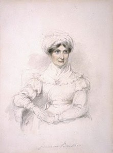 Joanna Baillie by Mary Ann Knight, Courtesy of Wikipedia