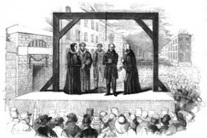 Georgian execution of James Greenacre, Public Domain