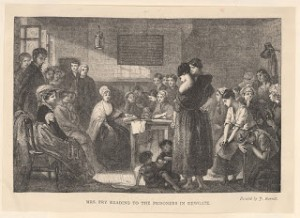 Reading to Regency Female Prisoners at Newgate, Courtesy of Wikipedia