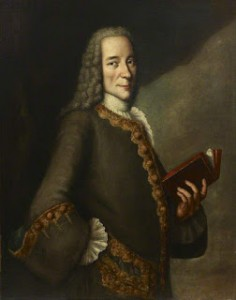 Painting by Théodore Gardelle of Voltaire, Courtesy of British Museum