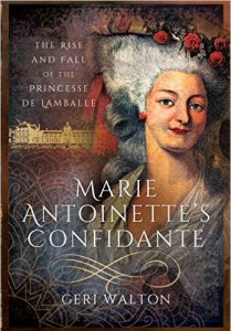 Princesse de Lamballe Book - Cover