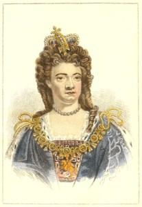 George I, George II, George III, and George IV - Queen Anne
