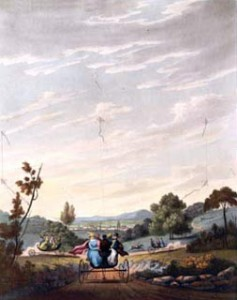 The Kite-Carriage or Charvolant in Motion, Courtesy of Wikipedia