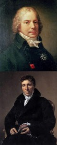 Talleyrand (top) and Sieyès (bottom), Public Domain