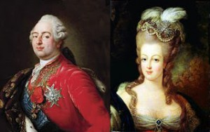 Louis XVI and Marie Antoinette, Public Domain