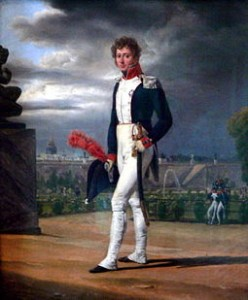 Painting of Philippe Lenoir in 1814 His French National Guard Uniform by Horace Vernet, Courtesy of Wikipedia