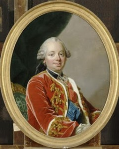 Étienne-François, duc de Choiseul. Choiseul was also Marie Antoinette's biggest supporter and the man who helped bring her to France. Courtesy of Wikipedia
