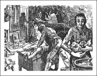 Supposed Murderous Events Occurring at the Red Inn, Public Domain