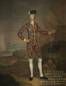 Prince Charles Edward Stuart (1720–1788), Son of the Old Pretender by Willem Verelst (attributed to), c.1745. © Harris Museum & Art Gallery; Supplied by The Public Catalogue Foundation.