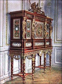 jewel cabinet of Marie Antoinette