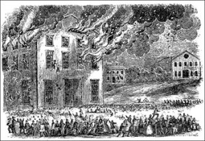 Theatre fires in the 1800s: Example of a Theatre Fire