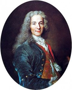 Voltaire, Courtesy of Wikipedia