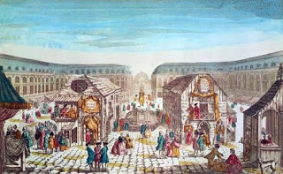 Place Louis XV - Fair of St. Ovide's While