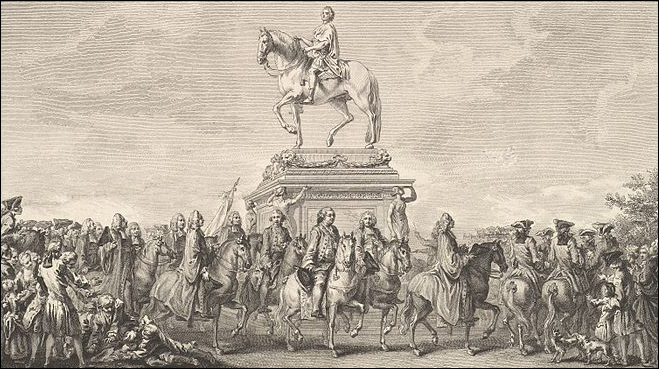 Place Louis XV - Statue of Louis XV