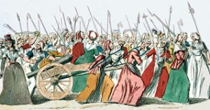 Reine Audu Heroine of the French Revolution: The Women's March on Versailles, Courtesy of Wikipedia