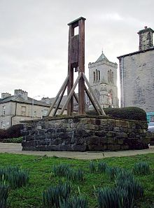 Not the Guillotine but the Halifax Gibbet