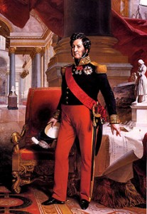 Louis Philippe I, by Franz Xaver Winterhalter, Courtesy of Wikipedia