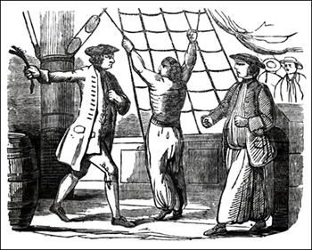 Captain Lowry Beating Hossack, Public Domain