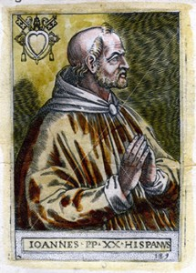 Pope John XXI, Courtesy of Wikipedia