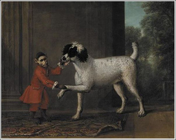 Monkeys as Pets - A Favorite Poodle And Monkey Belonging To Thomas Osborne