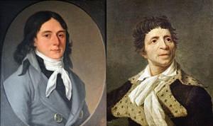 Camille Desmoulins and Jean-Paul Marat, Public Domain