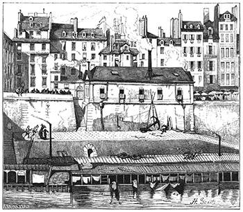 La Morgue in 1840, Author's Collection