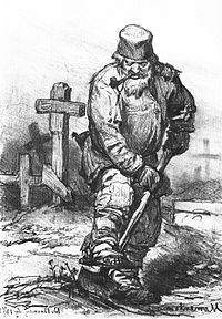 Grave and Gravedigger, Courtesy of Wikipedia