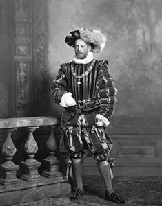 Baron Ferdinand de Rothschild as Casimir, Count of Palatine of Bavaria, Courtesy of Lafayette Negative Archive of V&A Museum