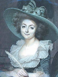 buried at Père Lachaise Cemetery - Madame de Condorcet