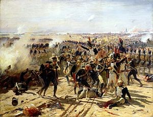 The Battle of Aspern-Essling, May 1809, Courtesy of Wikipedia