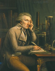 Georges Cuvier Working, Courtesy of Wikipedia