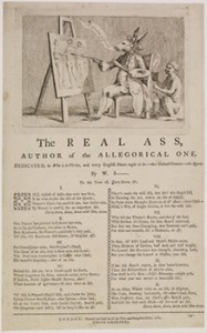 """Response to the """"Queen's Ass,"""" """"The Real Ass,"""" Courtesy of British Museum"""