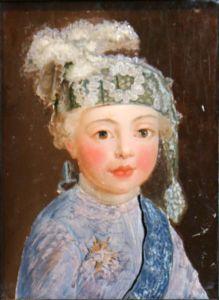duc de Bourgogne - his brother, the future Louis XVI.