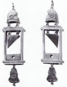 guillotine earrings