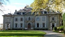 Voltaire's Château at Ferney, Courtesy of Wikipedia
