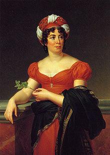 women's hats - Madame de Staël