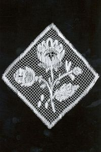Example of Valenciennes Bobbin Lace (1850-1900), Courtesy of Wikipedia