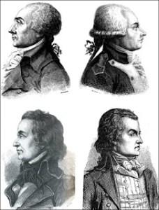Festival of Reason - Jacques René Hébert, Antoine-François Momoro, Charles-Philippe Ronsin, and François-Nicolas Vincent, Courtesy of Wikipedia