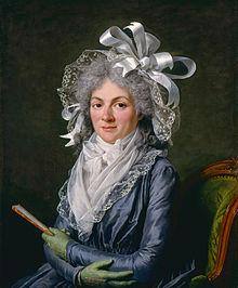 Madame de Genlis in 1780