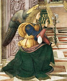Image of the Angel Gabriel from Pinturicchio's The Annunciation (1501), Courtesy of Wikipedia