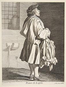 Dreadful Murder in France in 1818 by a Peddler: French Rabbit Pelt Peddler