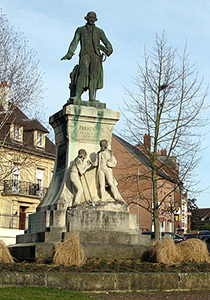 Montdidier Statue of Parmentier, Courtesy of Wikipedia