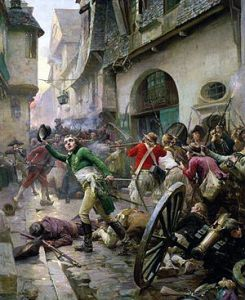 Dogs during the French Revolution - The Battle of Cholet