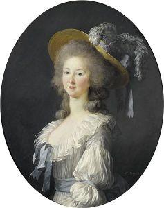 Princesse de Lamballe portraits - by Louise-Elisabeth Vigée-Lebrun