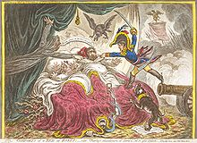 Elizabeth Armistead - James Gillray