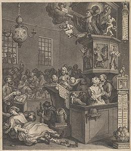 Conjurors and conjuroring - William Hogarth