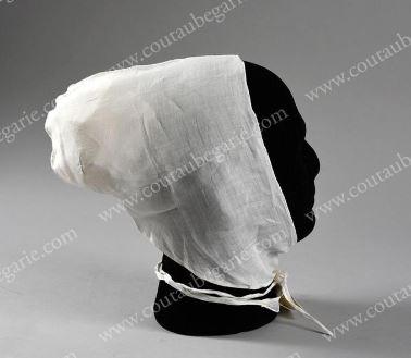 Marie Antoinette - linen cap