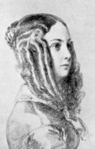 Juliette Récamier's adopted daughter  - Louise Colet